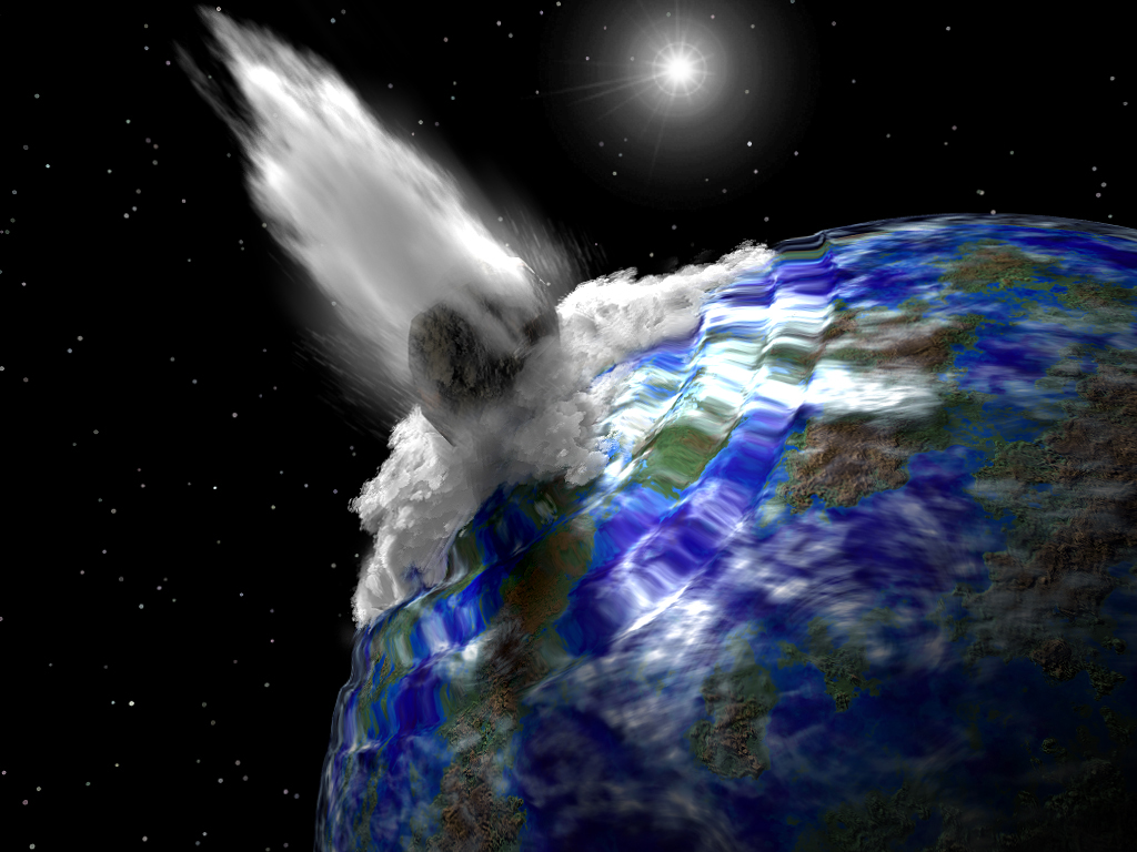 Meteors Hitting Earth